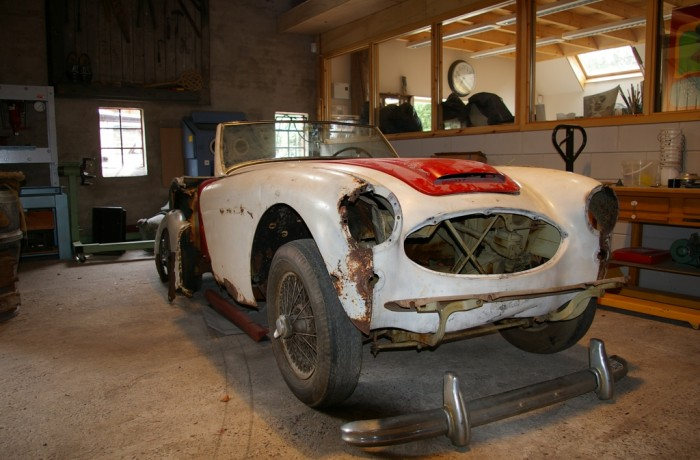 austin healey 3000 restauration