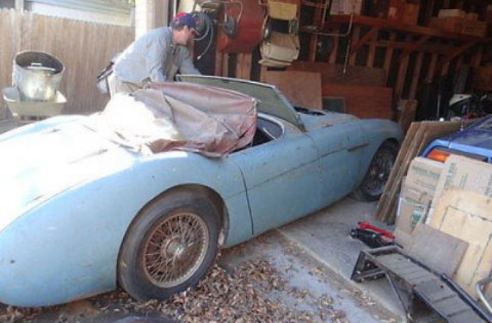 Austin Healey 100 BN1 Barnfind (Sold)